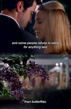 And some people refuse to settle for anything less than butterflies. #SATC