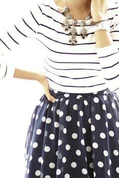 Dots + stripes