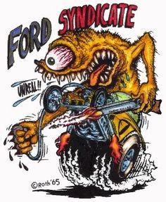 American Hippie Ed Roth Art ~ Rat Fink | Rat Fink | Pinterest