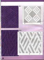 artesanía de Tina: 177 patrón de puntada knittings