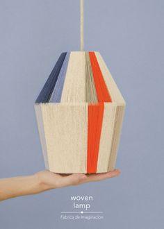 DIY Woven Lamp