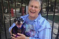 This Widow Adopted A Shelter Dog That No One Wanted, Im Not Crying, You're Crying