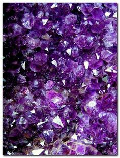 February Birthstone- #Amethyst.