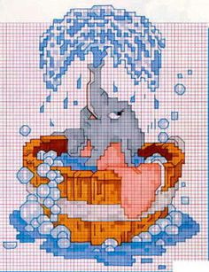 Dumbo cross stitch