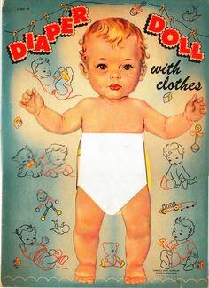 Diaper doll