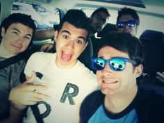 Willy, Staxx, Luzu, Mangel y Rubius