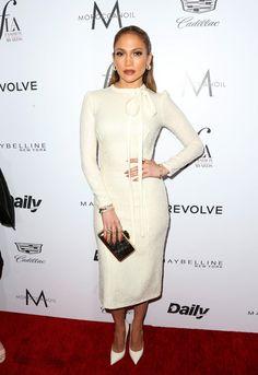 Jennifer Lopez Metallic Clutch