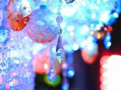 Christmas Decorations - holidays, new year, blue, balls color, christmas, purple, red, christmas tree, christmas balls