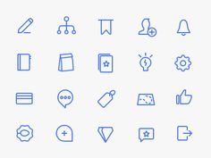 Tiny icons for client's app.