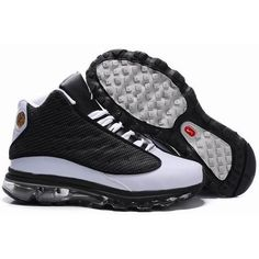 Recommend Air Jordan 13 + Air Max Fusion New Version Men Black / White Shoes 1003.  http://www.martbasketball.com