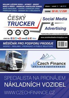 Český Trucker březen 2016