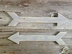 Rustic Wooden Arrow Wooden Arrow Sign Pallet by DunnRusticDesigns