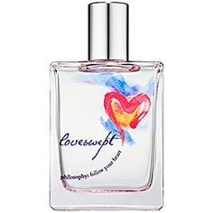 Philosophy Loveswept- A romantic fragrance featuring notes of: Bergamot, Blue Violet, Lotus Blossom, Pink Jasmine, Purple Passion Fruit, Skin Musk, Creamy Amber, and White Cedarwood.