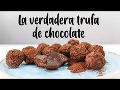 Cómo Hacer La Verdadera Trufa De Chocolate - YouTube Fondant, Cocoa, Almond, Bakery, Formulas, Make It Yourself, Breakfast, Diana, Balls