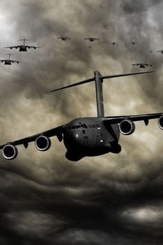 My favorite Air Force cargo aircraft - Galaxy! Used to turn wrenches on these 7 years Cargo Aircraft, Boeing Aircraft, Military Jets, Military Aircraft, C 17 Globemaster Iii, War Machine, Drones, Air Force, Fighter Jets