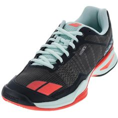 b327c2fb0871 The Babolat Women s Jet Team Clay Court Tennis Shoe is built for speed on the  court