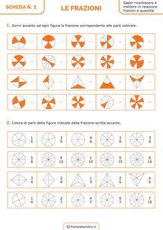 Frazione Expert Puzzle in legno Puzzle matematica per Bambini Apprendimento Gioco