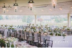 Alyssa Alkema - Glen Abbey Golf Club - vintage wedding - Blush and Bloom Flowers - milk glass - vintage tea cups - vintage decor