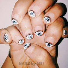 eyes nails by mei