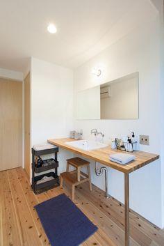 堅田の家 | ソラマド写真集 Home, Sweet Home, Kitchen Decor, Interior, House, Kitchen, Kitchen Styling, My Room, Bathroom