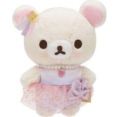 New! Korilakkuma Fluffy Cute dream Plush Doll Stuffed Rilakkuma San-X Japan #SanX