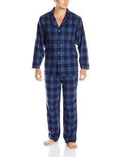 Pendleton Men's Pajama Set at Amazon Men's Clothing store: Flanel Pajamas Mens