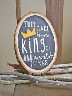 Hey, I found this really awesome Etsy listing at https://www.etsy.com/listing/182299840/where-the-wild-things-are-king-of-all