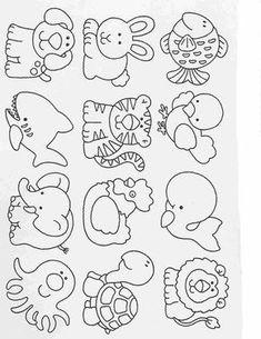 Actividades para niños preescolar, primaria e inicial. Art Drawings For Kids, Drawing For Kids, Easy Drawings, Animal Drawings, Art For Kids, Colouring Pages, Coloring Pages For Kids, Coloring Books, Kids Coloring