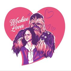 """Was he wearing the costume?"" Some questions from Gilmore Girls: A Year in the Life will never be answered but I may be able to help. For a limited time you can grab this and my other two Gilmore Valentines through @galleries1988. Go to their site and search ""valentines"". - - - #wookiee #gilmoregirls #columbusohio #cbusartist #schmandrewart #portrait #rorygilmore #gillieswhatdoyouthink #gallery1988 #valentinesday"