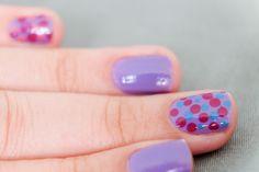 DIY: Stippen nail art - Nynkek Nail Art Diy, Diy Nails, Shellac, Finger, Beauty, Filing, Nail Polish, People, Cosmetology