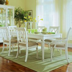 American Drew Camden White Leg Dining Table $735.00 - Wayfair
