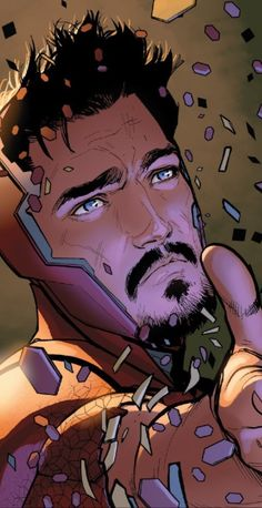 """Whoever said ""Beauty is Temporary but your Mind lasts Forever"" obviously hasnt seen Tony Stark. Tony Stark Comic, Marvel Tony Stark, Iron Man Tony Stark, Marvel Dc Comics, Marvel Heroes, Marvel Avengers, Anthony Stark, Robert Downey Jr., Super Anime"