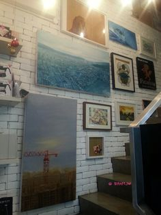Oz Specialty Coffee - Wall Decor of Cafe
