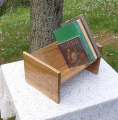 The BlackWater Book Rack  White Oak Book by BlackWaterWorkshops, $35.00
