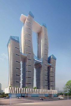Unique residential tower- shreepati gardens.