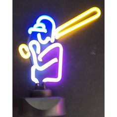 Neonetics Baseball Player Neon Sign