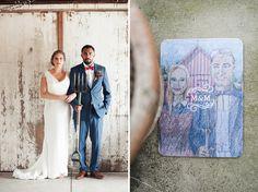 portrait of bride and groom - eco-friendly wedding – heritage prairie farm – elite photo - custom wedding invitation