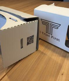 26318788c515f8 Google Cardboard V2 + Hoofdband + NFC Chip - Versie 2 van de optimale  Virtual Reality Ervaring!