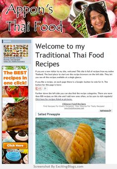 Appons Thai Food Recipes - Click to visit site:  http://1.33x.us/IizMze