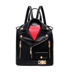 Main Material: PU Decoration: Rivet,Letter Gender: Unisex Pattern Type: Solid Backpacks Type: Softback Closure Type: Zipper Lining Material: Polyester Capacity: Below 20 Litre Rain Cover: No Carrying System: Arcuate Shoulder Strap Model Number:...