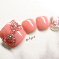 Pedicure Designs, Nail Designs, Feet Nail Design, Builder Gel Nails, Acrylic Toes, Manicure And Pedicure, Pedicures, Feet Nails, Trendy Nail Art