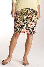 perfect print pencil skirt