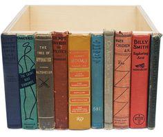 library storage box {Able + Baker Design} via Adam Sheath