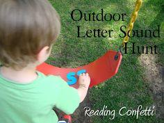 Outdoor Letter Sound Hunt
