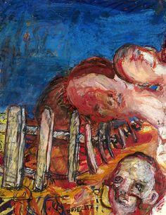Baselitz, Georg (1938- ) - 1964 Oberon (Christie's London, 2008) by RasMarley, via Flickr