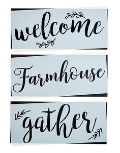 Grateful Thankful Blessed Stencil Set Large Beautiful Calligraphy Stencils for Painting on Wood DIY Farmhouse Decor Create Rustic French Country Word Stenciled Signs * You can get more details by clicking on the image. (This is an affiliate link) Farmhouse Kitchen Signs, Country Farmhouse Decor, Kitchen Country, Kitchen Wood, Modern Farmhouse, Farmhouse Windows, French Kitchen, Country Crafts, Farmhouse Plans