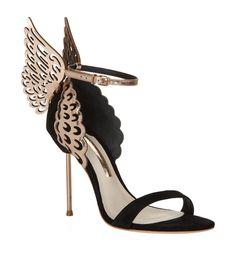 Sophia Webster Evangeline Rose Gold Sandals | Harrods