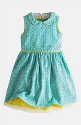 Mini Boden Eyelet Dress (Little Girls & Big Girls)