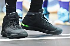 Russell Westbrook Previews An All-Black Air Jordan 31