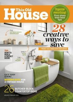 this old house one year subscription - Houses Magazine Subscription